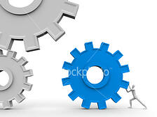 istockphoto 6131779 the main part of mechanism